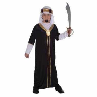 Carnaval  Arabieren kostuum kids zwart