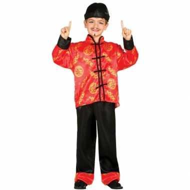 Carnaval  Aziatische verkleed kostuumen kinderen