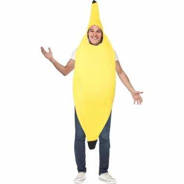 Carnaval  Bananen kostuumken volwassenen
