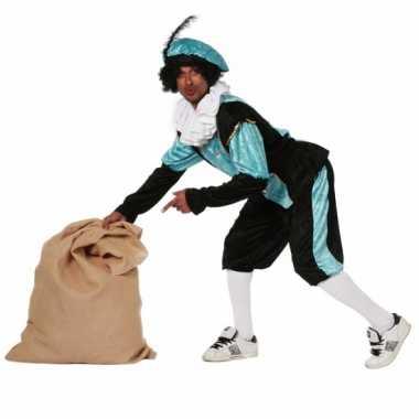 Carnaval  Blauw zwarte pieten kostuum budget