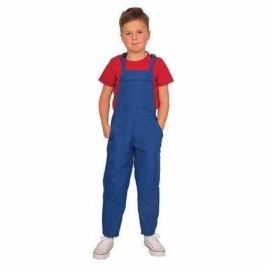 Carnaval blauwe verkleed kostuuml kinderen
