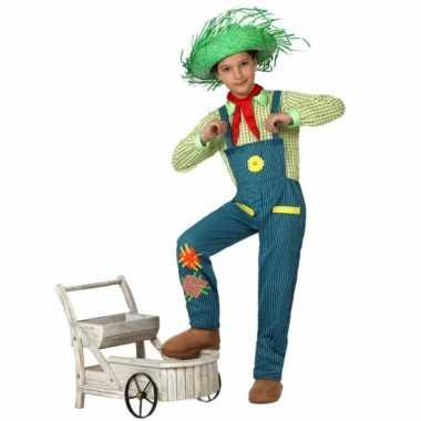 Boeren jongen carnavals kostuum