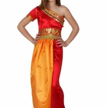 Carnaval  Bollywood jurk meiden kostuum
