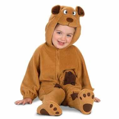 Carnaval  Bruin beren kostuumje baby