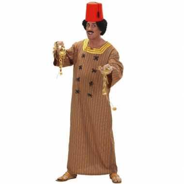 Carnaval  Bruin marrokaans heren kostuum