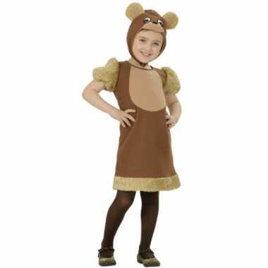 Carnaval  Bruine beren kostuum meisjes