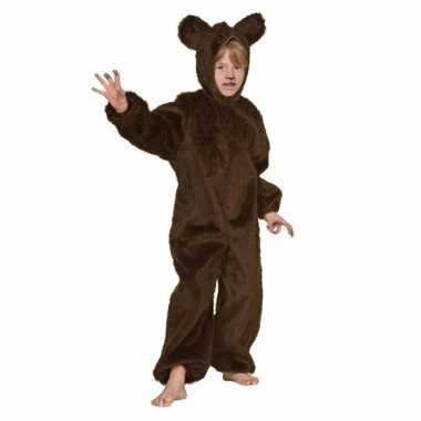 Carnaval  Bruine beren pak kinderen kostuum