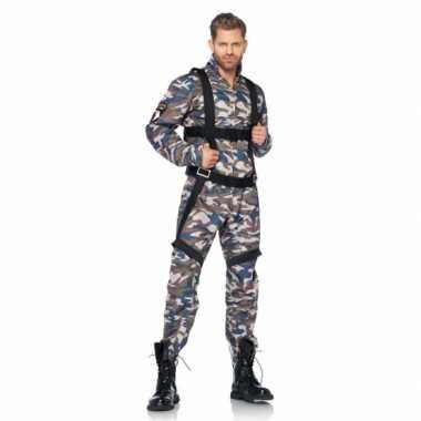Carnaval  Camouflage parachutist kostuum