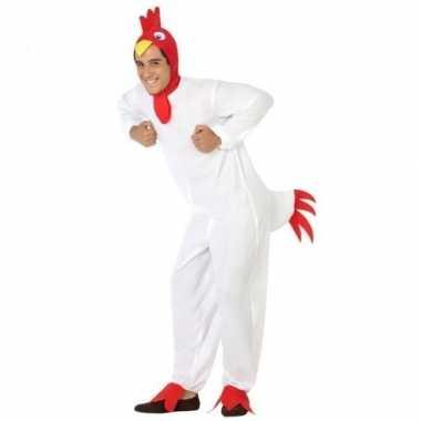 Carnaval dieren kostuum kip/haan heren