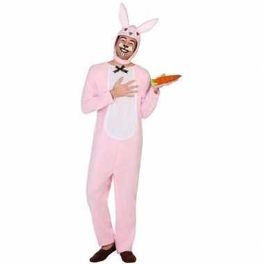 Carnaval dieren kostuum paashaas/konijn volwassenen