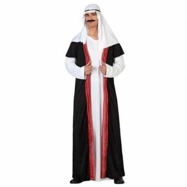 Carnaval/feest arabische prins/sjeik verkleedpak heren kostuum