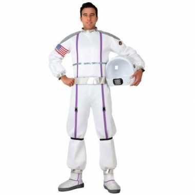 Carnaval/feest astronauten verkleed pak heren kostuum