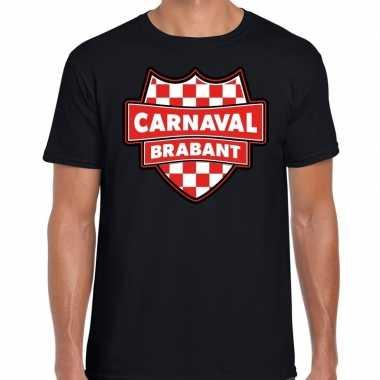 Carnaval verkleed t shirt brabant zwart heren kostuum