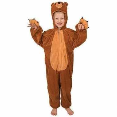 Carnavals kinder beren kostuum