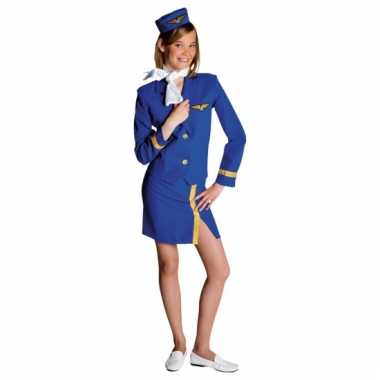 Carnavals kinder kostuum stewardess
