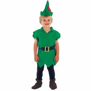 Carnavals kinder pak Robin Hoodje kostuum