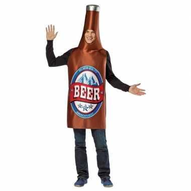 Carnavalskostuum bierfles kostuum