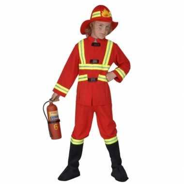 Carnavalskostuum brandweer kostuum