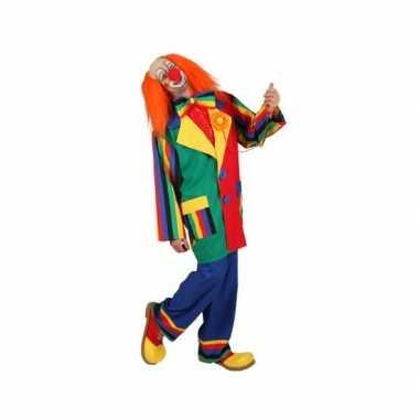 Carnavalskostuum clowns kostuum