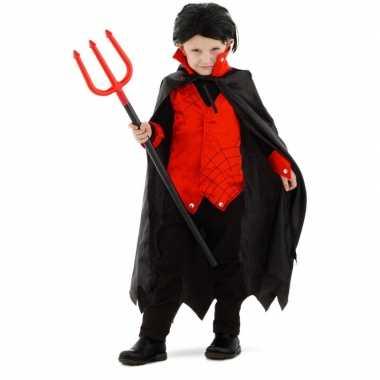 Carnavalskostuum dracula/vampier verkleedpak jongens/meisjes/kindere