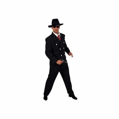 Carnavalskostuum gangster kostuum