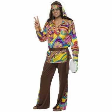 Carnavalskostuum hippie kostuum