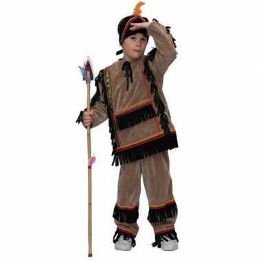 Carnavalskostuum indiaan jongen