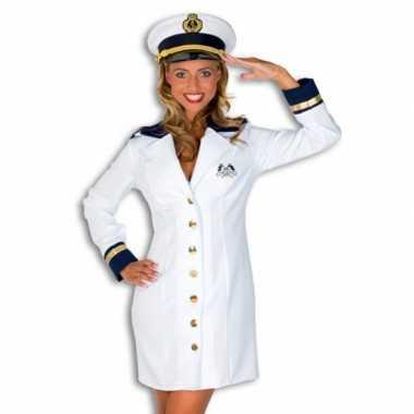 Carnavalskostuum kapiteinskostuumje dames