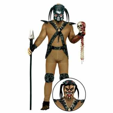Carnavalskostuum monster kostuum masker heren