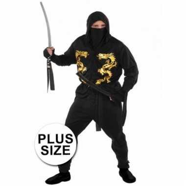 Carnavalskostuum ninja heren xxl
