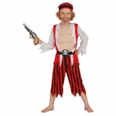 Carnavalskostuum piraten kind