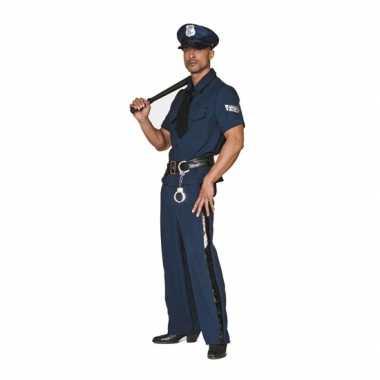Carnavalskostuum Politie kostuum big size