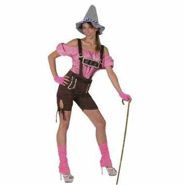 Carnavalskostuum Sexy tirol dames