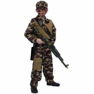 Carnavalskostuum soldaat kostuum kind