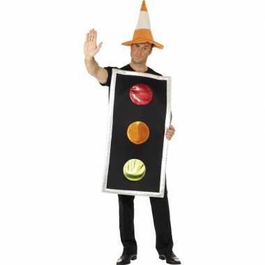 Carnavalskostuum stoplicht kostuum