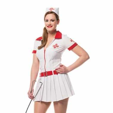 Carnavalskostuum verpleegster kostuumje