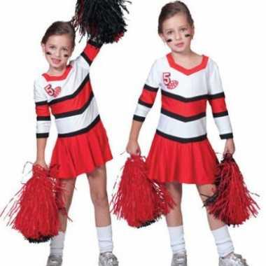 Carnaval  Cheerleader pak meisjes kostuum