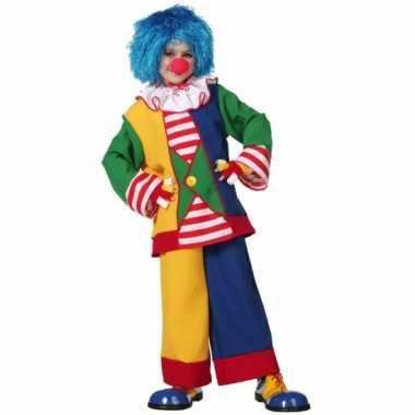 Clown carnavalskostuum kind