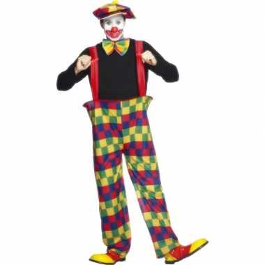 Clowns carnavalskostuum volwassenen