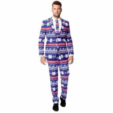 Carnaval compleet kostuum kerst stijl