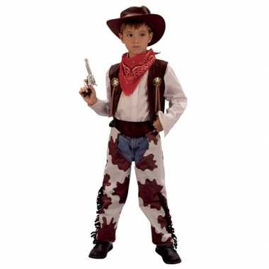 Carnaval  Cowboy koe pak kinderen kostuum