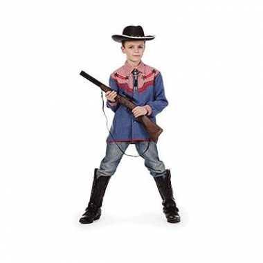 Carnaval  Cowboy verkleed hemd kids kostuum