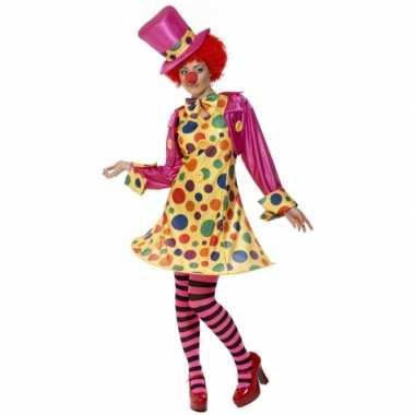 Carnaval  Dames clowns kostuum