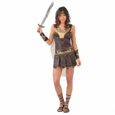 Dames gladiator carnavalskostuum