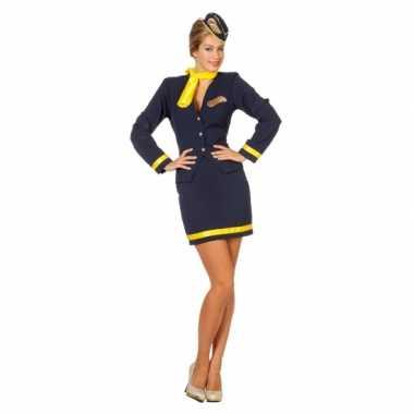 Dames Stewardess carnavalskostuum