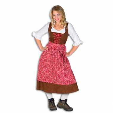 Carnaval  Dames Tiroler jurken kostuum
