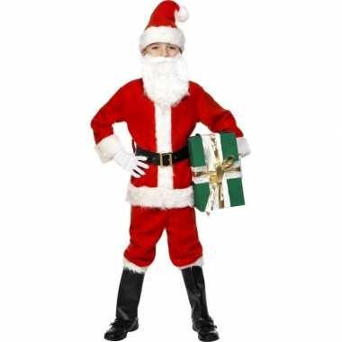 Carnaval  Deluxe kerstman kinder kostuum