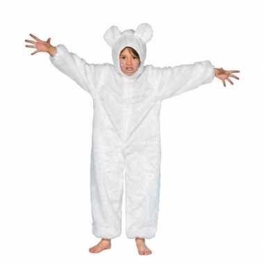 Dieren carnavalskostuum ijsbeer kid
