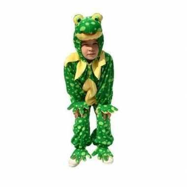 Dieren carnavalskostuum kikker kind