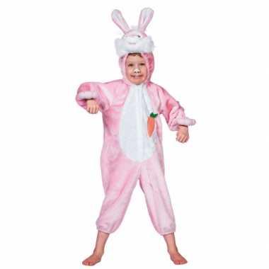Dieren carnavalskostuum konijn kind